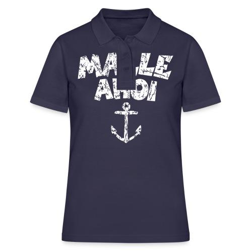 Malle Ahoi T-Shirt (Vintage Weiß) - Frauen Polo Shirt