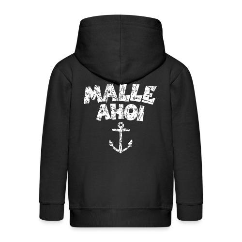 Malle Ahoi T-Shirt (Vintage Weiß) - Kinder Premium Kapuzenjacke