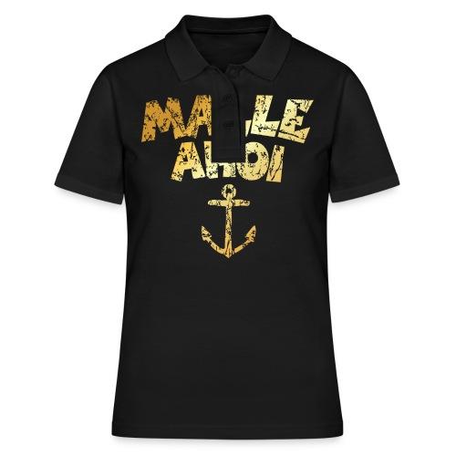 Malle Ahoi T-Shirt (Vintage Gold) - Frauen Polo Shirt