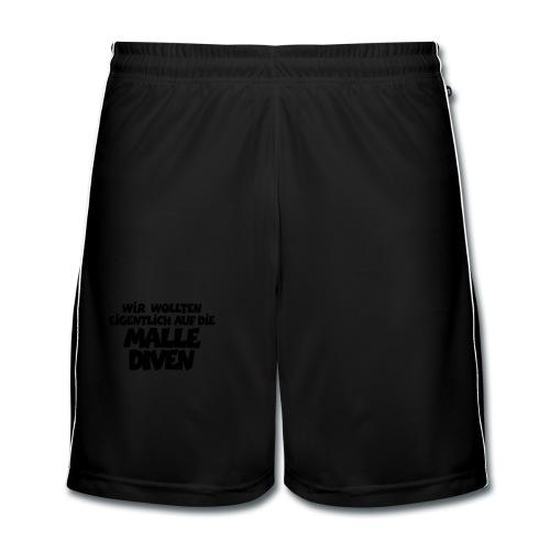 Mallediven Malle Team T-Shirt - Männer Fußball-Shorts