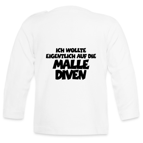 Mallediven Malle T-Shirt - Baby Langarmshirt