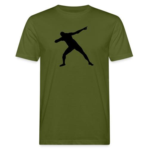 Get set Bolt - Men's Organic T-Shirt