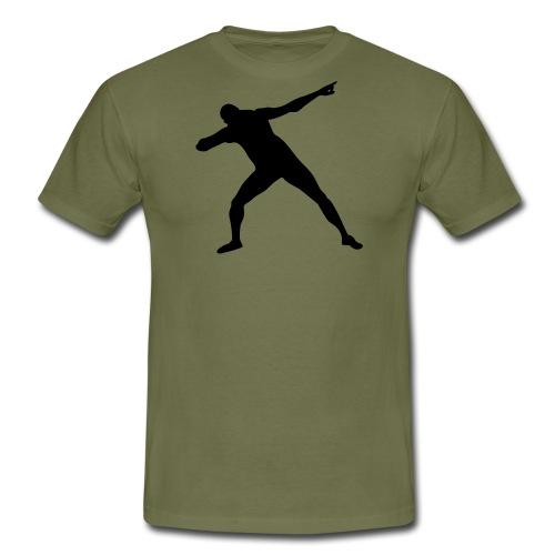 Get set Bolt - Men's T-Shirt