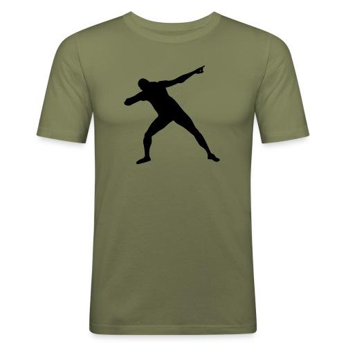 Get set Bolt - Men's Slim Fit T-Shirt