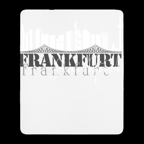 FFM - Frankfurt Skyline - Mousepad (Hochformat)