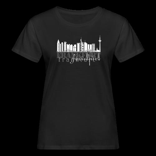 FFM - Frankfurt Skyline - Frauen Bio-T-Shirt