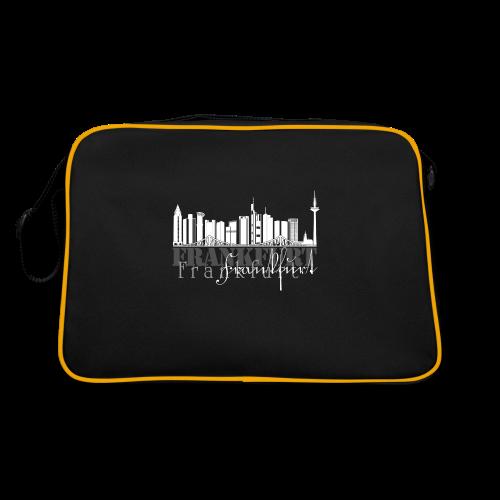 FFM - Frankfurt Skyline - Retro Tasche