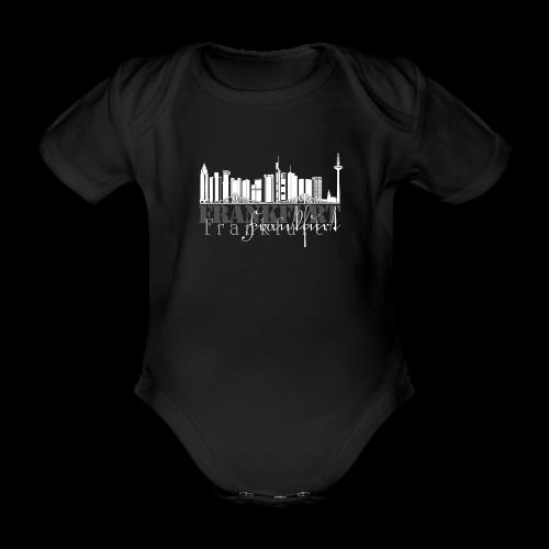 FFM - Frankfurt Skyline - Baby Bio-Kurzarm-Body