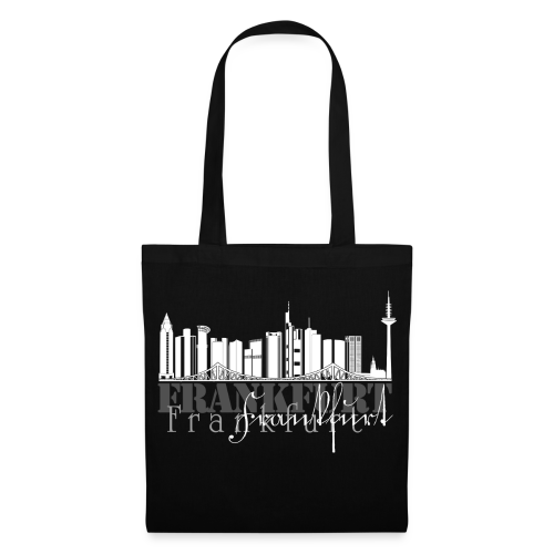 FFM - Frankfurt Skyline - Stoffbeutel
