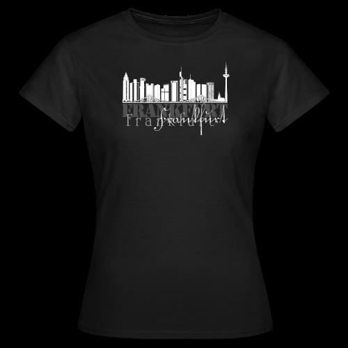 FFM - Frankfurt Skyline - Frauen T-Shirt