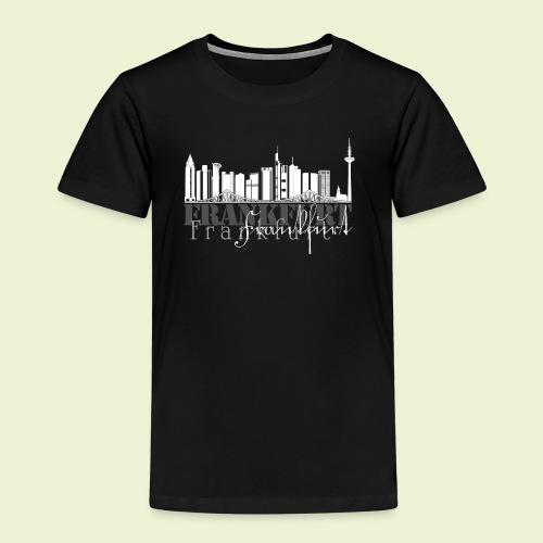 FFM - Frankfurt Skyline - Kinder Premium T-Shirt