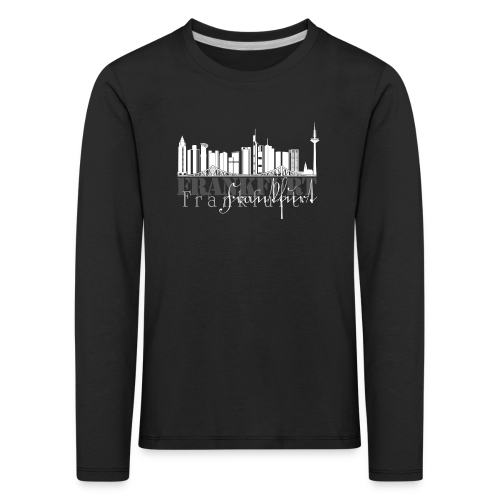 FFM - Frankfurt Skyline - Kinder Premium Langarmshirt
