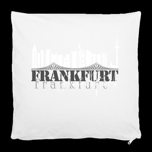 FFM - Frankfurt Skyline - Kissenbezug 40 x 40 cm