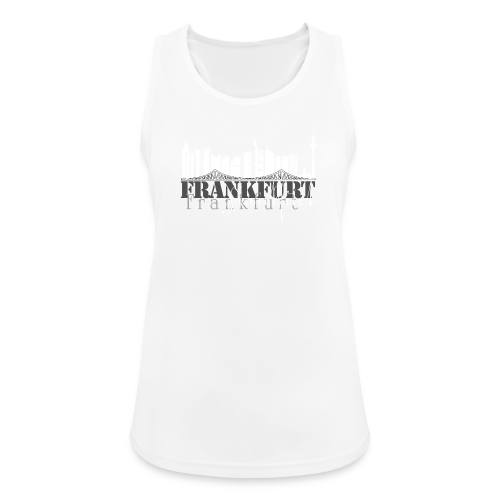 FFM - Frankfurt Skyline - Frauen Tank Top atmungsaktiv
