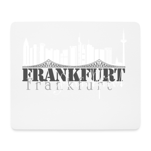 FFM - Frankfurt Skyline - Mousepad (Querformat)