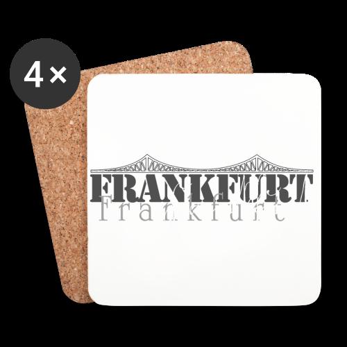 FFM - Frankfurt Skyline - Untersetzer (4er-Set)