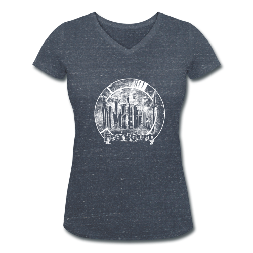 orbi FFM - Frauen Bio-T-Shirt mit V-Ausschnitt von Stanley & Stella