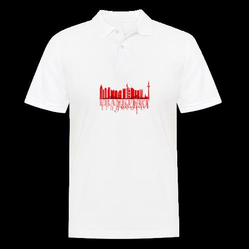 FFM - Frankfurt Skyline - Männer Poloshirt