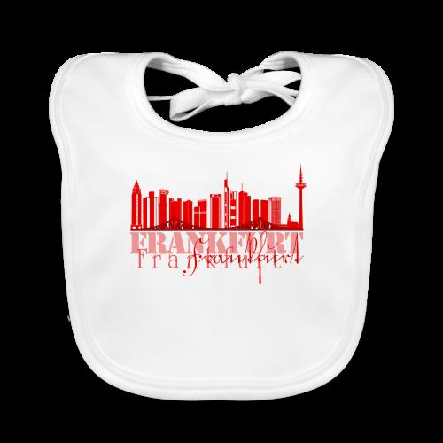 FFM - Frankfurt Skyline - Baby Bio-Lätzchen