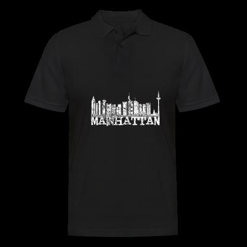 Mainhattan Shirt - Männer Poloshirt