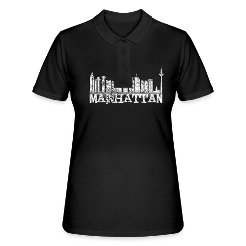 Mainhattan Shirt - Frauen Polo Shirt