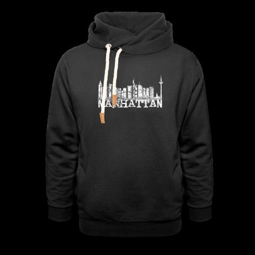 Mainhattan Shirt - Schalkragen Hoodie