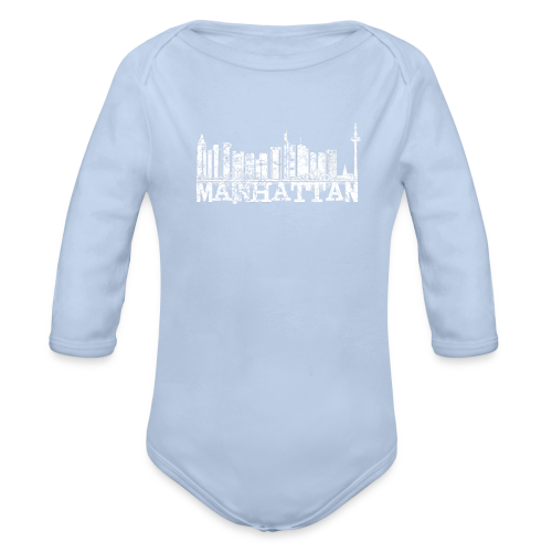Mainhattan Shirt - Baby Bio-Langarm-Body
