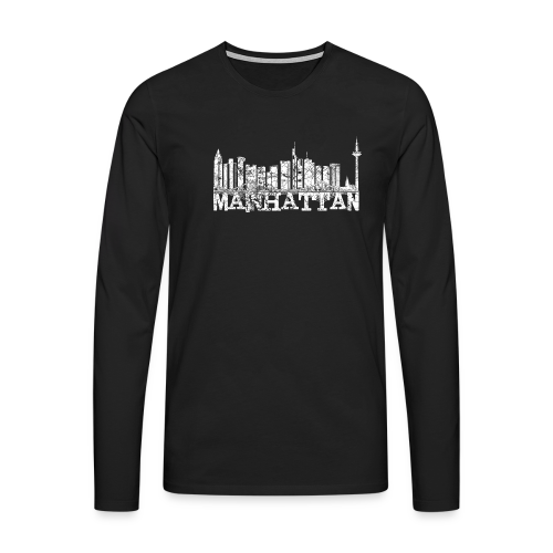 Mainhattan Shirt - Männer Premium Langarmshirt