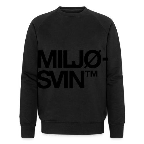 Miljøsvin (tm) - Økologisk sweatshirt for menn fra Stanley & Stella