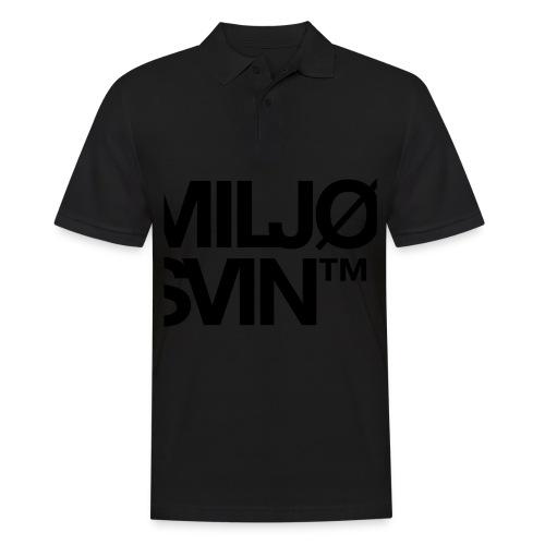 Miljøsvin (tm) - Poloskjorte for menn