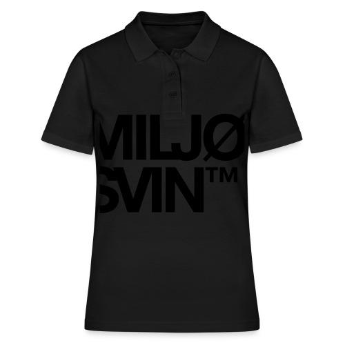 Miljøsvin (tm) - Women's Polo Shirt