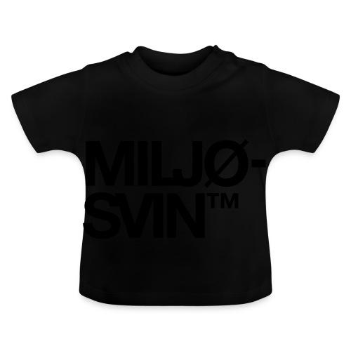 Miljøsvin (tm) - Baby-T-skjorte
