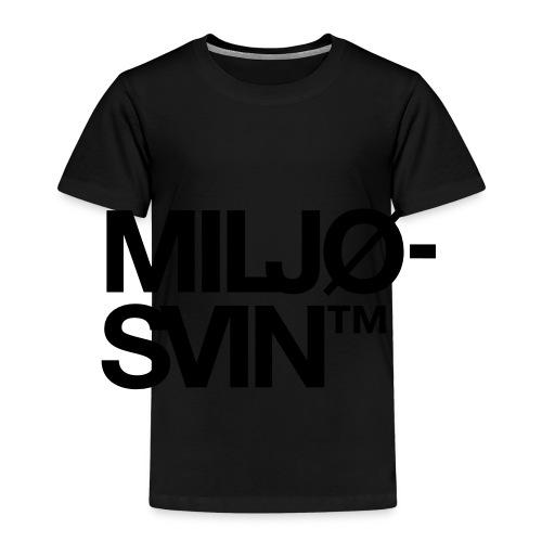 Miljøsvin (tm) - Premium T-skjorte for barn
