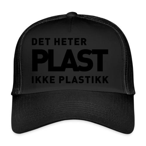 Det heter plast - Trucker Cap