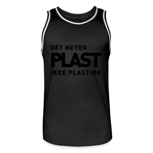 Det heter plast - Basketballdrakt for menn