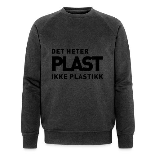 Det heter plast - Økologisk sweatshirt for menn fra Stanley & Stella