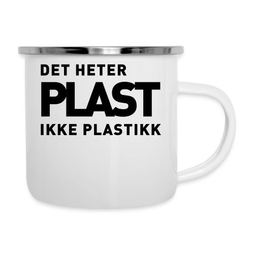 Det heter plast - Emaljekopp
