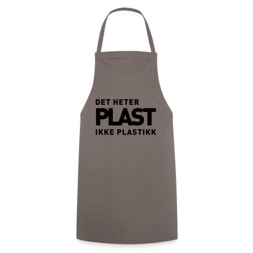 Det heter plast - Kokkeforkle