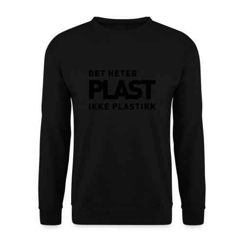 Det heter plast - Genser for menn