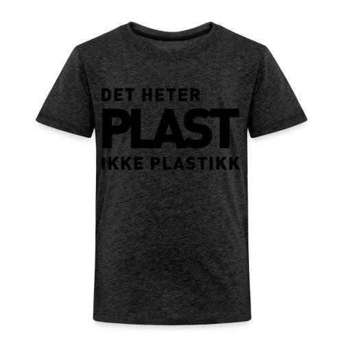 Det heter plast - Premium T-skjorte for barn
