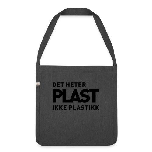 Det heter plast - Skulderveske av resirkulert materiale