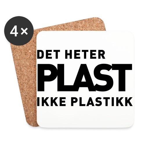 Det heter plast - Brikker (sett med 4)