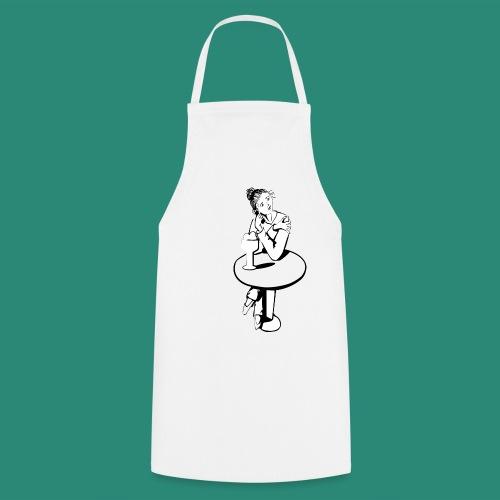 Mädchen am Tisch T-Shirts - Kochschürze