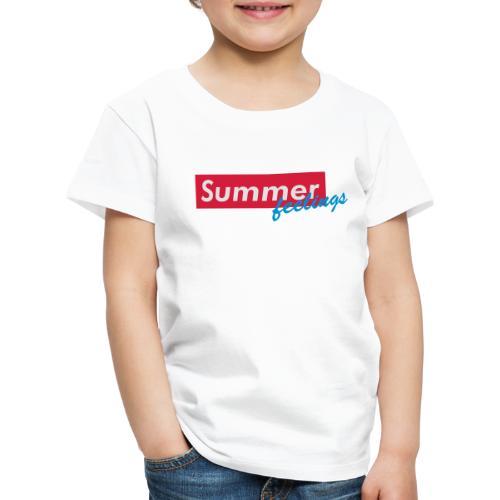 Summer feelings - Kinder Premium T-Shirt