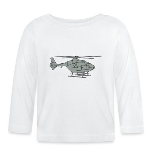Hubschrauber 2 - Baby Langarmshirt