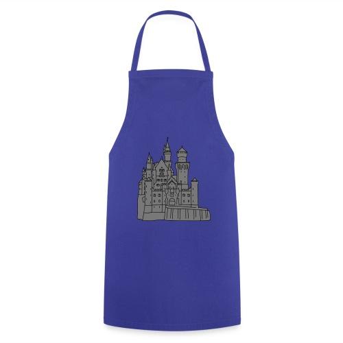 Schloss Neuschwanstein 2 - Kochschürze