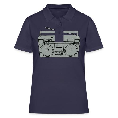 Ghettoblaster 2 - Frauen Polo Shirt