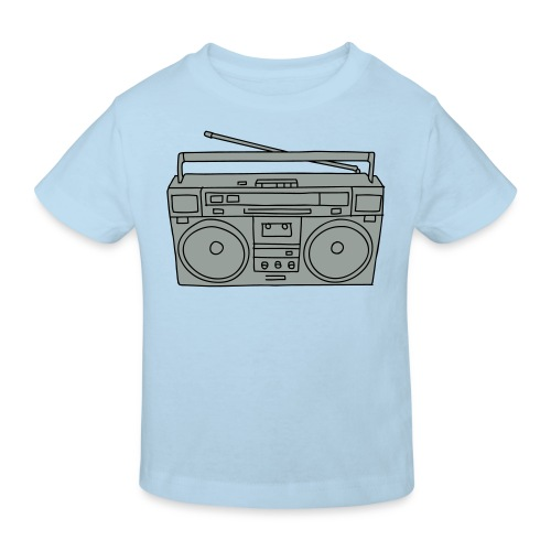 Ghettoblaster 2 - Kinder Bio-T-Shirt
