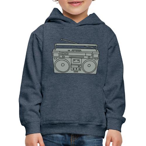 Ghettoblaster 2 - Kinder Premium Hoodie