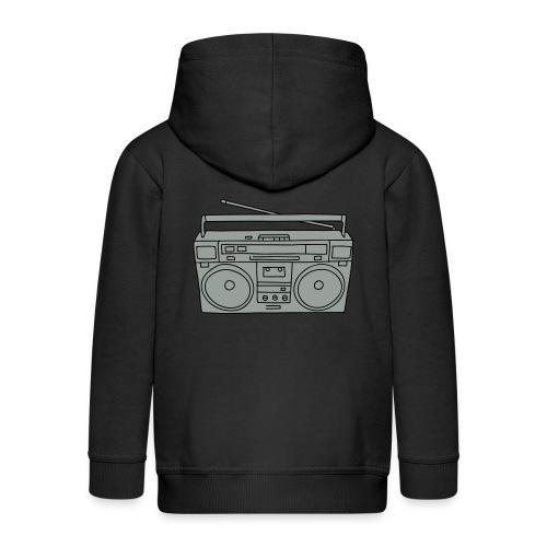Ghettoblaster 2 - Kinder Premium Kapuzenjacke
